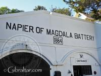 Napier of Magdala Battery entrance