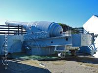 The 100 ton gun in Gibraltar