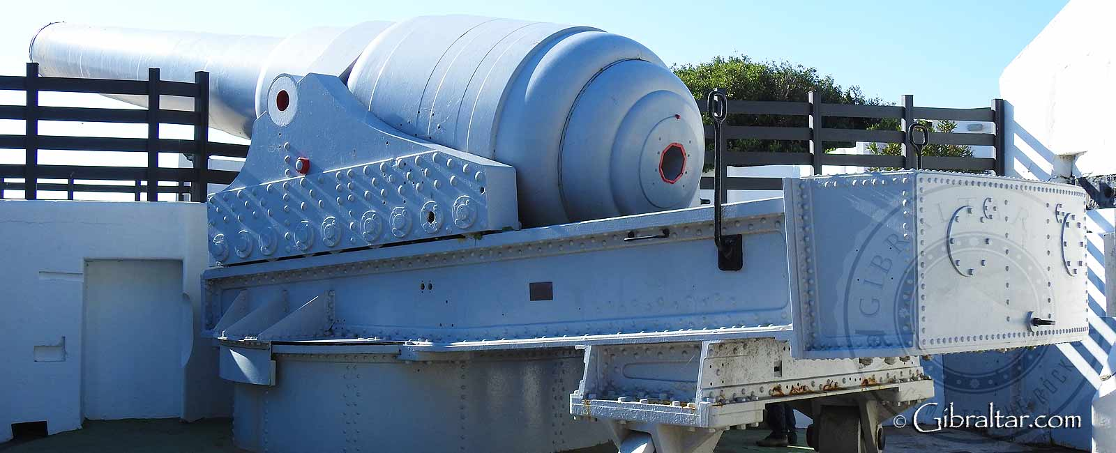 Nelson's Anchorage & The 100 Ton Gun