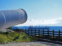 Imagen del cilindro apuntando hacia el sur