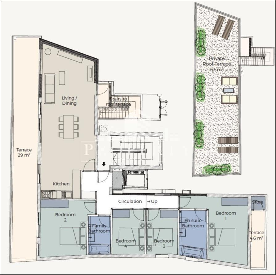4 Bedroom Penthouse For Sale In Main Street Gibraltar