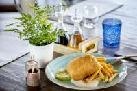 Mons Calpe Suite Fish and Chips