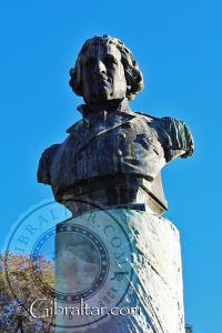 Bust of General George Augustus Eliott Gibraltar