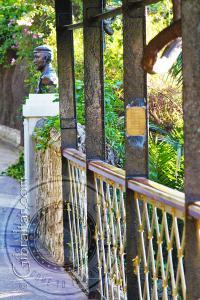 Giuseppe Codali bridge Alameda Gardens Gibraltar