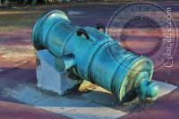 Howitzer gun Botanic Gardens Gibraltar