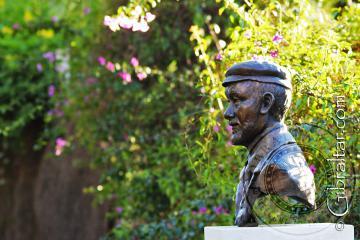 Busto de Giuseppe Codali, Jardines Botánicos Alameda, Gibraltar