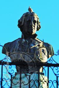Busto del General George Augustus Eliott