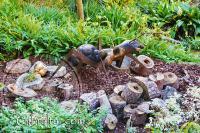 Escultura de una hormiga en el Jardín Botánico de la Alameda, Gibraltar