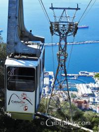 Cable Car in Gibraltar