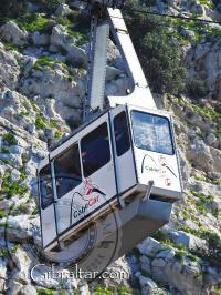 El Paseo en el Teleférico de Gibraltar