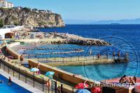 Camp bay beaches at Gibraltar