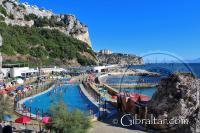 Camp Bay in Gibraltar