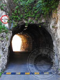 Camp Bay Tunnel in Gibraltar