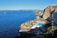 Europa Pool and Camp Bay in Gibraltar