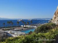 Over looking Europa Pool in Gibraltar