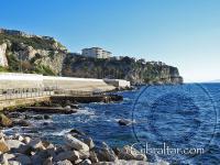 Looking toward Little Bay in Gibraltar