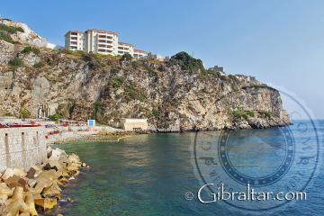 Little Bay (cala o bahía pequeña) en Gibraltar