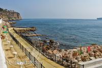 Área de tumbonas y descanso de Camp Bay, Gibraltar