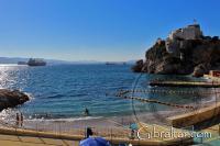 Camp Bay y la Bahía de Gibraltar