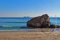 Winter in Catalan Bay Gibraltar