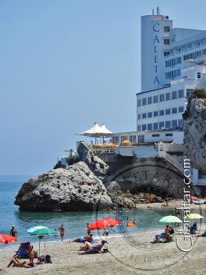 Hotel en la playa de Catalan bay, Gibraltar