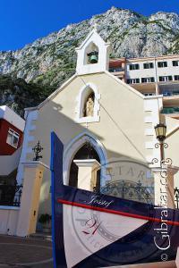 Imagen de la Iglesia de la Virgen de las Angustias en Gibraltar