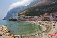 Catalan Bay Beach -Playa La Caleta - en Gibraltar