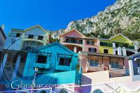 Imagen del pueblo de La Caleta en Gibraltar