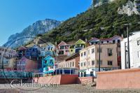 Pueblo de la Caleta en Gibraltar