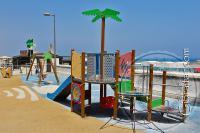 Parque infantil en la Playa de Levante, Gibraltar