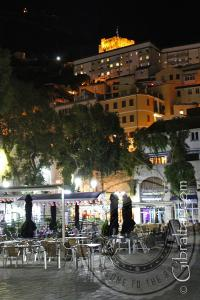 Evening photo of Grand Casemates Square Gibraltar