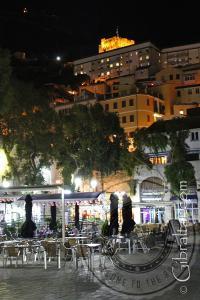 Evening photo of Grand Casemates Square Gibraltar