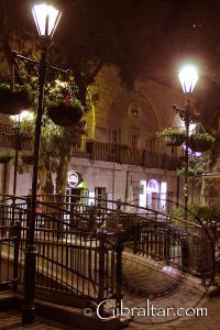 Evening photo at Grand Casemates Square