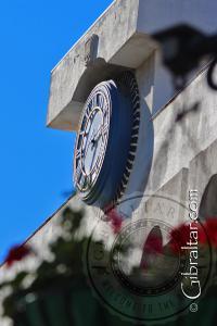 Grand Casemates Square Clock