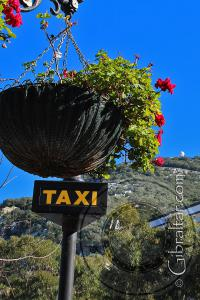 Grand Casemates Square Taxi Sign