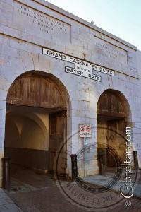 Water Gate entrance to Casemates Square