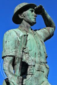 Soldado de la Fuerza de Defensa de Gibraltar