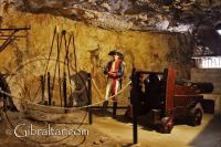 Cornwallis Hall inside the Great Siege Tunnels