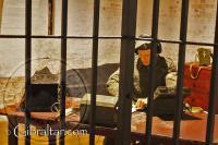 Sala de transmisiones en los Túneles del Gran Asedio