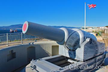12.5 inch RML Gun at Harding's Battery