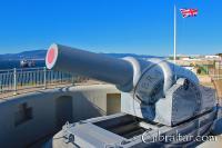 12.5 inch RML Gun at Harding's Battery