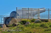 Harding's battery gun at Europa point in Gibraltar