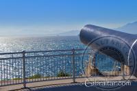 Batería de Harding y el estrecho de Gibraltar