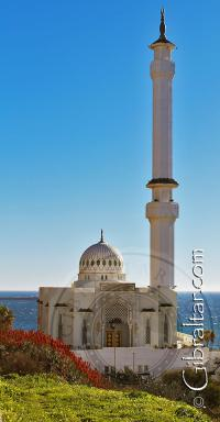 The  Ibrahim-al-Ibrahim Mosque in Gibraltar