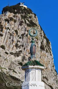 Main Crescent of the Mosque in Gibraltar