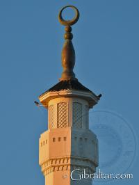 The Mosque of the Custodian Europa Point Gibraltar