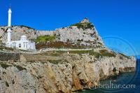 Mezquita en Punta Europa, en Gibraltar