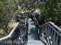 Jew's Gate Cemetery Raised Pathway