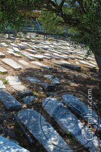 Jew's Gate Cemetery in Gibraltar