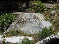Tomb stone at Jew's Gate Cemetery